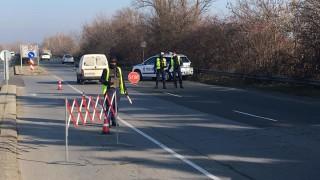 Спецакция блокира изходите на Бургас