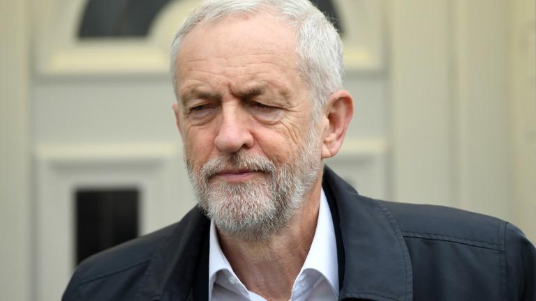 Листовка на Корбин за Евровота ядоса лейбъристите