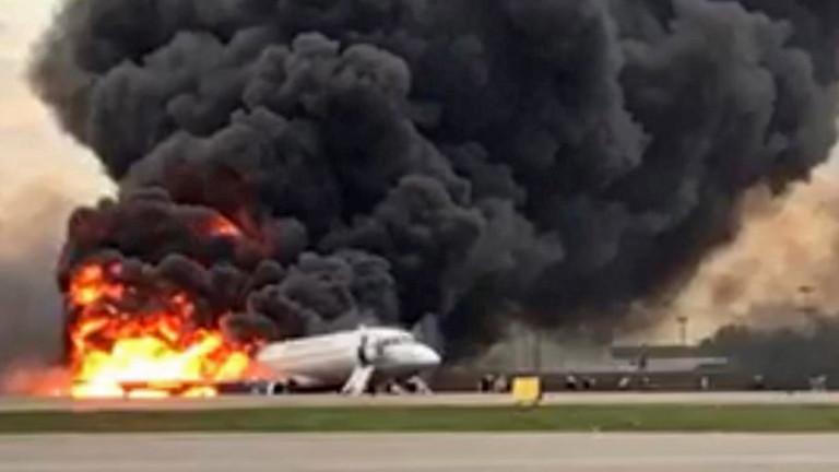 Публикуваха предварителния доклад за катастрофата на летище Шереметиево