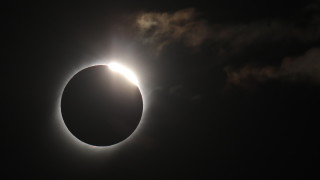 Пълно слънчево затъмнение наблюдаваха над Чили и Аржентина