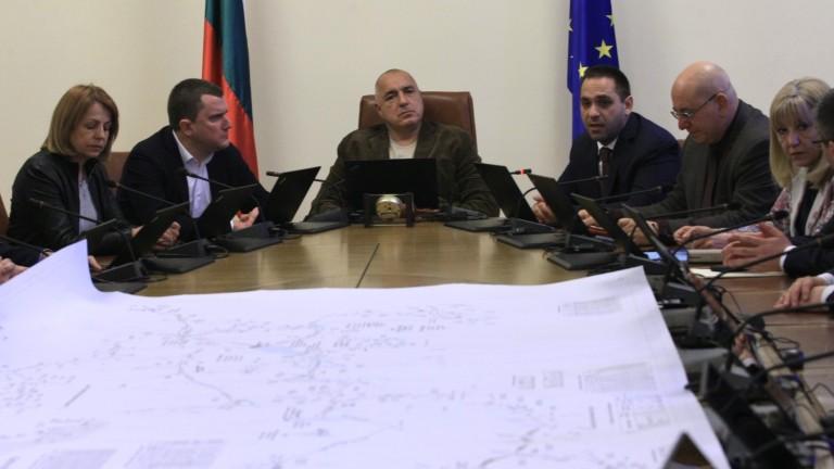 Премиерът Бойко Борисов благодари на всички за ангажираността за решаване