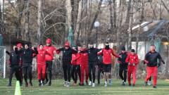 От Локомотив (София) благодариха на футболистите си