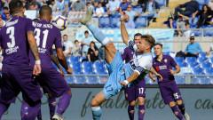 Лацио настигна Наполи след минимален успех над Фиорентина