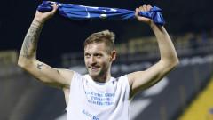 Давид Яблонски: Когато играеш в Левски, те подкрепя цяла България