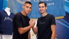 Чандъров и Димитров с първа тренировка в Левски