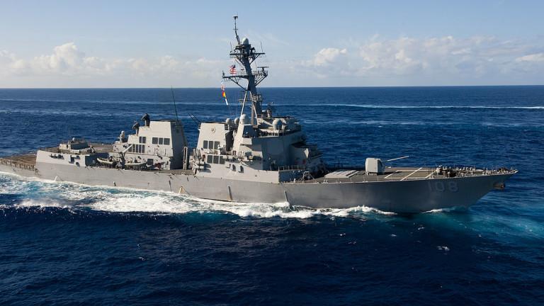 Разрушител на САЩ плава в близост до спорни острови в