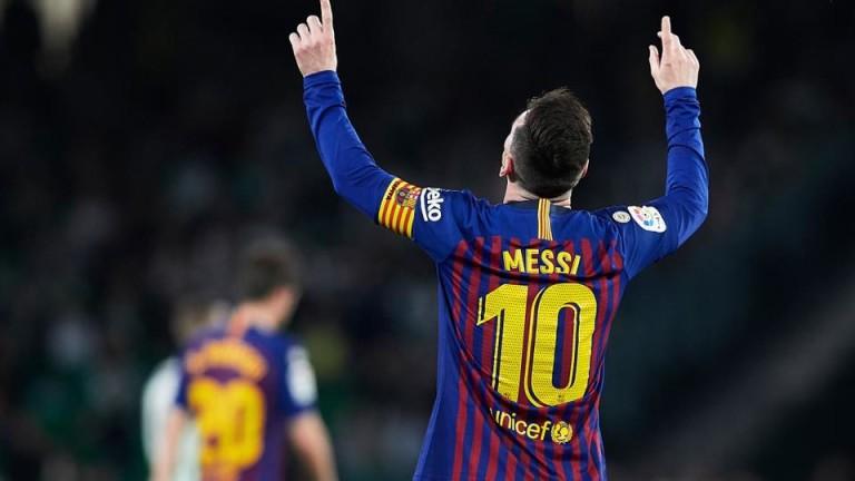 Лионел Меси на 50 гола от рекорда на Пеле за най-много попадения в един клуб