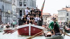 """Венеция отпразнува влизането си в Серия """"А"""" по каналите на красивия град"""