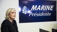 """Марин льо Пен: Еврото паралелно с франка след """"Фрекзит"""""""