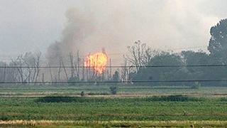 Фабрика за боеприпаси край Видин гърми след пожар