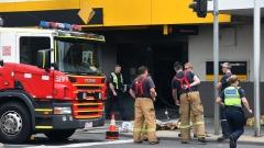 Австралиец подпали банка, 26 души пострадаха