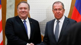 Лавров и Помпео обсъдиха организиране на петстранна среща на върха
