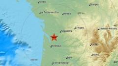 Земетресение от 5 по Рихтер във Франция