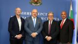 Министър Кралев се срещна с президента на Световната конфедерация по бейзбол и софтбол Рикардо Фракари