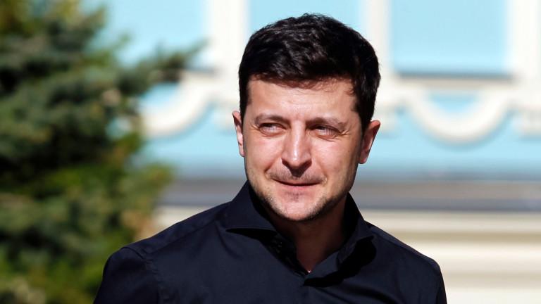 На 20 май Зеленски встъпва в длъжност