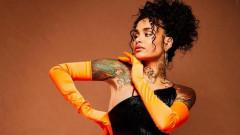 Знаменитости с татуировки по лицето