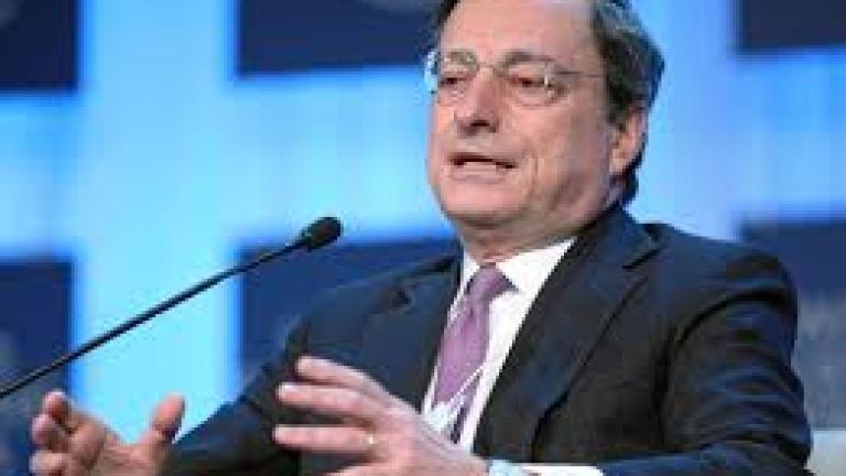 ЕЦБ е готова за нови стимулиращи мерки, потвърди Драги
