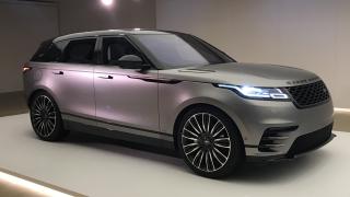 Land Rover отново впечатлява с модела Velar (ВИДЕО)