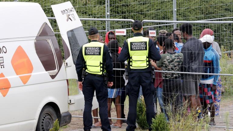 Рязко нарастване на нелегалните мигранти, влизащи в Германия през Беларус