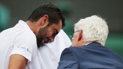 Победеният Чилич през сълзи: Дадох най-доброто, на което съм способен...