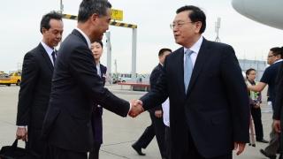 Тежки мерки за сигурност в Хонконг заради посещение на ключов властник от Пекин