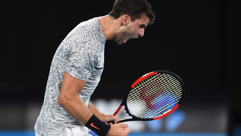 Безапелационен Григор Димитров на осминафинал в Австралия