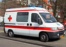 Водач на линейка шофира след употреба на алкохол