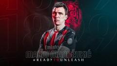 Манджукич: Истинска чест е да нося фланелката на Милан