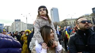 Румънците протестираха срещу новите противоепидемични мерки