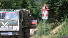 Горски задържаха камион с незаконни дърва за огрев