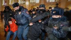 В Русия разпоредиха на полицията да смаже протест в подкрепа на Навални