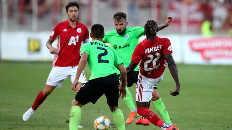 Васил Панайотов се подигра с привържениците на ЦСКА (СНИМКА)
