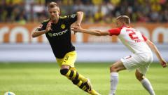 Борусия (Дортмунд) спечели гостуването си на Аугсбург с 2:1