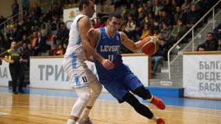 Левски Лукойл с категоричен успех в НБЛ