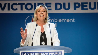 Партиите на Макрон и Льо Пен получават по 23 места