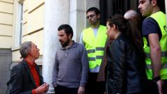 Неподкрепящите окупацията, са марионетки на партиите, обявиха ранобудните