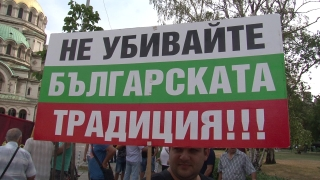 """""""Казан от мъка и вируси брани"""", уверяват пред НС протестиращи в защита на домашната ракия"""