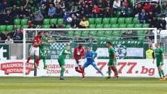 Лудогорец - ЦСКА 0:0 (Развой на срещата по минути)