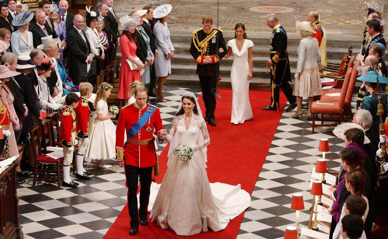 Сватбата на Уилям и Кейт през 2011г.
