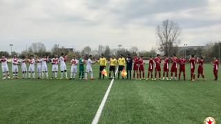 Юношите на ЦСКА завършиха наравно срещу Чавдар (Етрополе)
