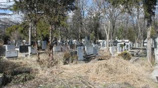 Деца трошиха надгробни плочи в Лом