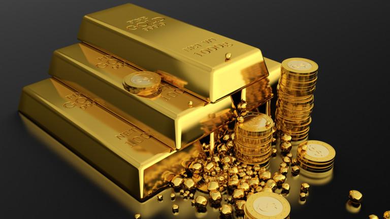Експерти: Цената на златото може да стигне $1600 за унция