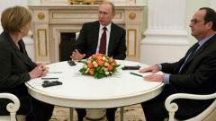 Путин, Меркел и Оланд обсъдиха обмяната на данни в борбата срещу тероризма