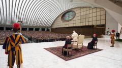 """Папата заклейми """"стерилното лицемерие"""" на отхвърлящите мигрантите"""