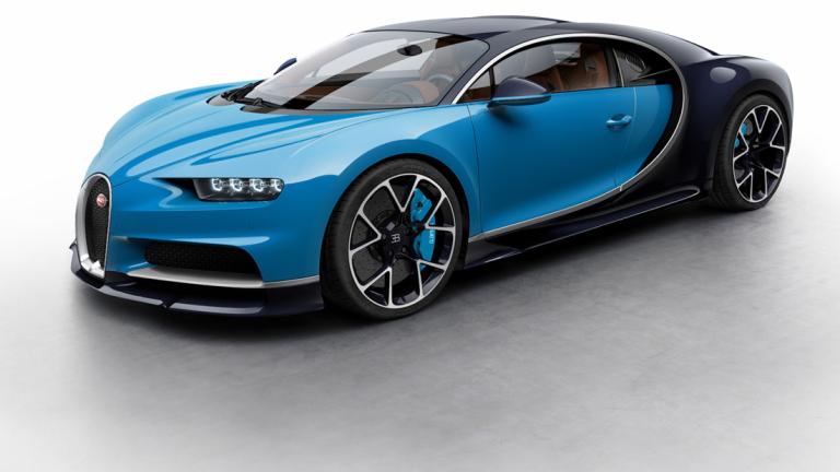 Bugatti продаде половината от тиража на хиперавтомобила Chiron