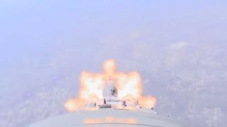 """Видео показва инцидента с руската ракета """"Союз"""""""