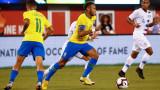 Неймар изпревари Пеле по брой мачове за националния отбор на Бразилия