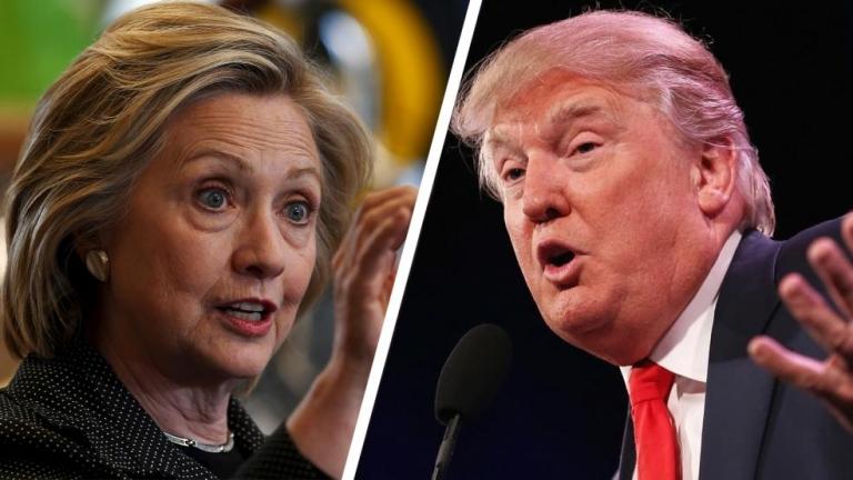 Клинтън води с 10% на Тръмп