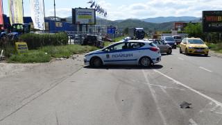 Челна катастрофа на пътя Русе - Варна