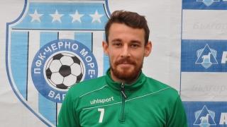 Ясен е първият футболист, който напуска Черно море през лятото